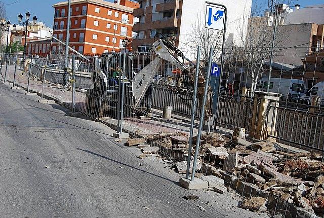 Comienzan las obras de remodelación del paseo de la Avenida de la Rambla de La Santa, incluida en el POS 2009, Foto 3
