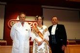 ELPOZO ALIMENTACI�N recibe a la Reina de la Huerta 2010 y a sus damas