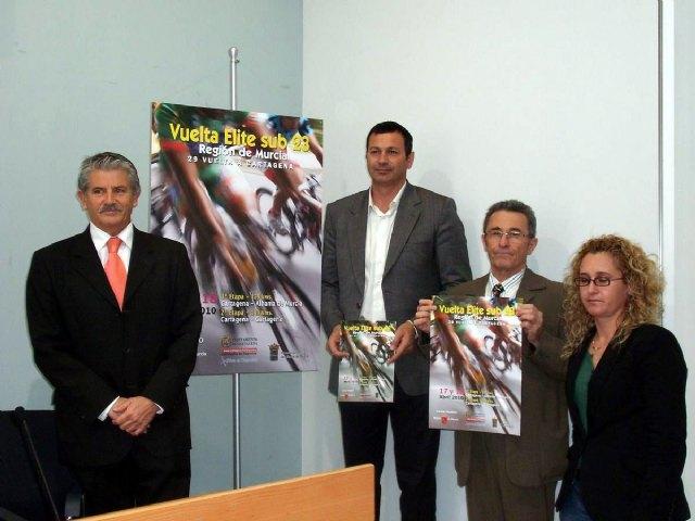 Un total de 16 equipos participan en la XXIX Vuelta Ciclista a Cartagena y Élite sub 23, Foto 1