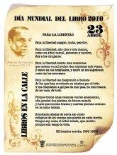 Actividades que conmemoran el D�a Mundial del Libro