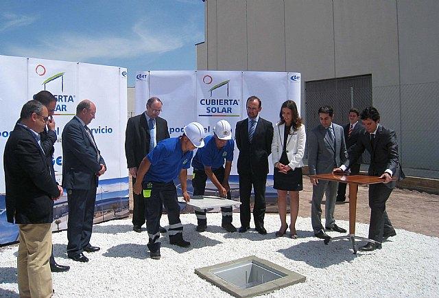 Marín pone la primera piedra de un proyecto de inversión de 25 millones de euros para construir naves industriales con cubierta solar, Foto 1