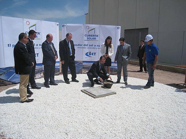 Marín pone la primera piedra de un proyecto de inversión de 25 millones de euros para construir naves industriales con cubierta solar, Foto 2