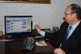 El alcalde de Alhama de Murcia acorta distancias con la ciudadan�a a trav�s de la web municipal