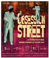 Arranca la programación de teatro para este trimestre con la obra Obsession Street