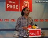 Martínez Usero: Después de las últimas pruebas a los concejales del PP que apoyan a Andreo se les acaba el tiempo