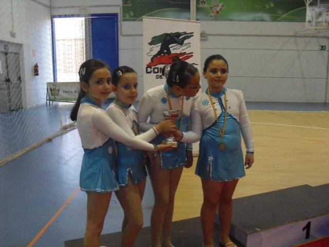 Las alumnas de la Escuela Municipal de Gimnasia Rítimica de Totana y Paretón consiguieron medallas de oro, plata y bronce, Foto 3