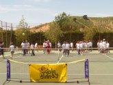 El Colegio Reina Sofía visita el Club de Tenis Totana