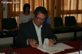 El alcalde de Totana y el consejero de Pol�tica Social, Mujer e Inmigraci�n firman un convenio de colaboraci�n por un importe de 175.245 euros - 3