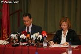 El alcalde de Totana y el consejero de Política Social, Mujer e Inmigración firman un convenio de colaboración por un importe de 175.245 euros - 12