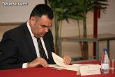 El alcalde de Totana y el consejero de Pol�tica Social, Mujer e Inmigraci�n firman un convenio de colaboraci�n por un importe de 175.245 euros - 13