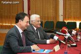 El alcalde de Totana y el consejero de Pol�tica Social, Mujer e Inmigraci�n firman un convenio de colaboraci�n por un importe de 175.245 euros - 16