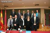 El alcalde de Totana y el consejero de Política Social, Mujer e Inmigración firman un convenio de colaboración por un importe de 175.245 euros - 17