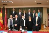El alcalde de Totana y el consejero de Pol�tica Social, Mujer e Inmigraci�n firman un convenio de colaboraci�n por un importe de 175.245 euros - 19