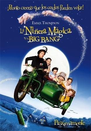 Las películas La niñera mágica y el big bang y Recuérdame. Vive el momento se proyectarán este fin de semana, Foto 1