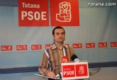 Rueda de prensa PSOE Totana sobre el PGOM