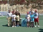 Celebrado el 'Campeonato regional benjamín de tenis' en Mazarrón