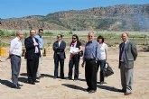 El alcalde y el edil de urbanismo visitan las obras de colectores pluviales