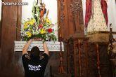 Autoridades municipales y los trabajadores del Ayuntamiento realizan una ofrenda floral a su patrona Santa Rita - 18