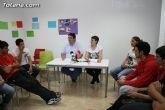 El concejal de Bienestar Social entrega los diplomas a las personas que se han formado en los talleres de pintura y alfabetizaci�n - 10