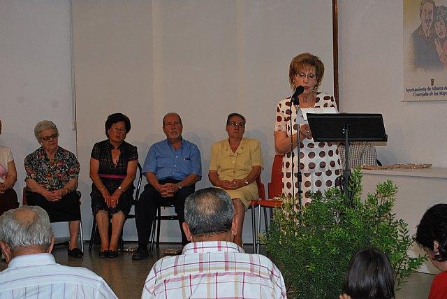 Varios mayores recitan sus poesías presentadas a concurso, Foto 5