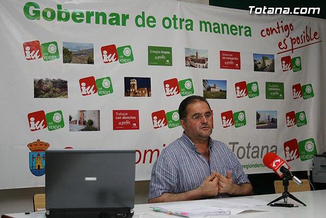 IU+LV: Los presupuestos del Ayuntamiento de Totana son tardíos, irreales e inservibles, Foto 1