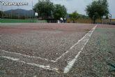 """Autoridades municipales visitan las obras de cubrición de la pista del Polideportivo Municipal """"6 de Diciembre"""" - 5"""