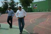 """Autoridades municipales visitan las obras de cubrición de la pista del Polideportivo Municipal """"6 de Diciembre"""" - 9"""
