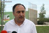 """Autoridades municipales visitan las obras de cubrición de la pista del Polideportivo Municipal """"6 de Diciembre"""" - 10"""