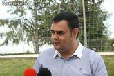 """Autoridades municipales visitan las obras de cubrición de la pista del Polideportivo Municipal """"6 de Diciembre"""" - 11"""