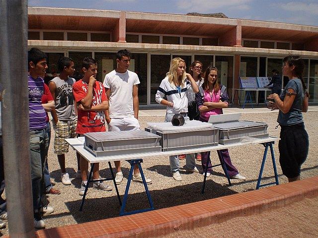 Los alumnos del Aula Ocupacional realizan una visita guiada al Yacimiento Argárico de La Bastida, Foto 3