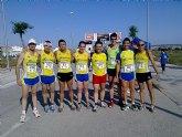 En seis carreras estuvo presente el Club Atletismo Totana el pasado fin de semana.
