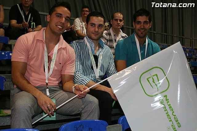 Miembros de NNGG de Totana asistieron a los actos del XXX Aniversario de Nuevas Generaciones de la Región de Murcia, Foto 1