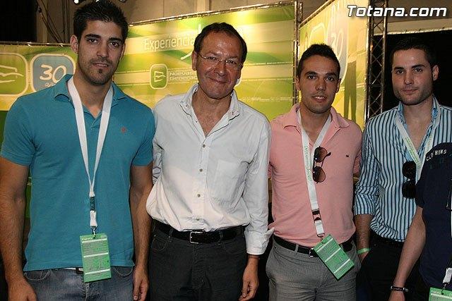 Miembros de NNGG de Totana asistieron a los actos del XXX Aniversario de Nuevas Generaciones de la Región de Murcia, Foto 2