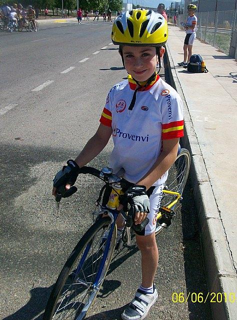 Disputada la 6ª prueba de escuelas de ciclismo de la Región de Murcia, Foto 2