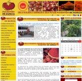 La concejalía de Nuevas Tecnologías diseña y desarrolla la página web del Consejo Regulador de D.O. del pimentón de Murcia