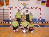 Los alumnos deportistas del Centro Ocupacional José Moya participan en el Campeonato Regional de Fútbol Sala