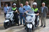 La Polic�a Local cuenta con dos nuevas motocicletas