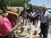 Éxito de participación en el el Mercadillo Artesano de La Santa