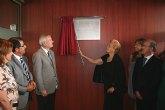 Valcárcel inaugura el nuevo Centro de Salud del Puerto de Mazarrón, en cuya construcción se han invertido 4,5 millones de euros