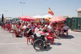 Los residentes extranjeros contagian de fiesta a los mazarroneros