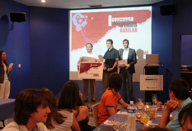 El alumno del IES Juan de la Cierva, Cristian Cánovas Sánchez, premiado a nivel nacional por un trabajo de investigación científica, Foto 2