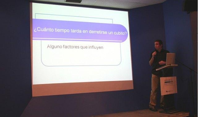 El alumno del IES Juan de la Cierva, Cristian Cánovas Sánchez, premiado a nivel nacional por un trabajo de investigación científica, Foto 3