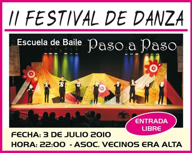 El II Festival de Danza Paso a paso tendrá lugar el sábado 3 de julio, Foto 1
