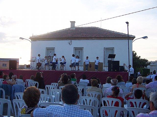 Los alumnos de la Academia de Música de la pedanía de El Paretón-Cantareros cierran el curso 2009/2010 con una audición, Foto 1