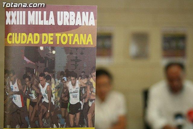 La XXIII Milla Urbana Ciudad de Totana se celebrará el próximo sábado 17 de julio, Foto 4