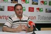 IU en Totana denuncia que la irresponsabilidad de Martínez Andreo y el PP ha hecho que se incremente la deuda