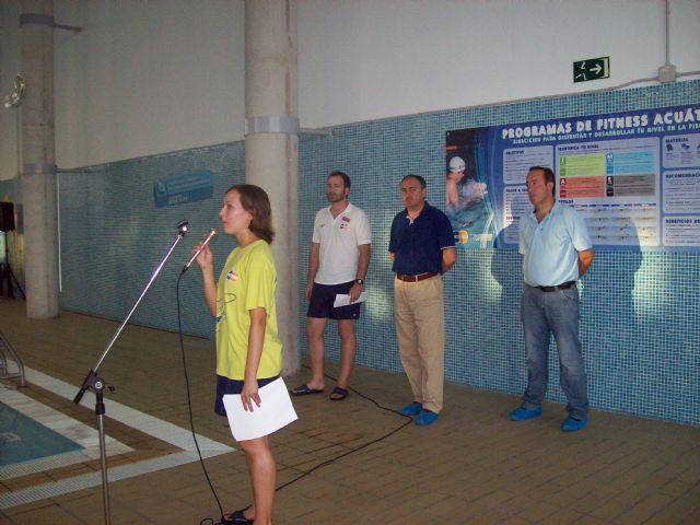 Clausuran con una exhibición los cursos de natación sincronizada, Foto 2