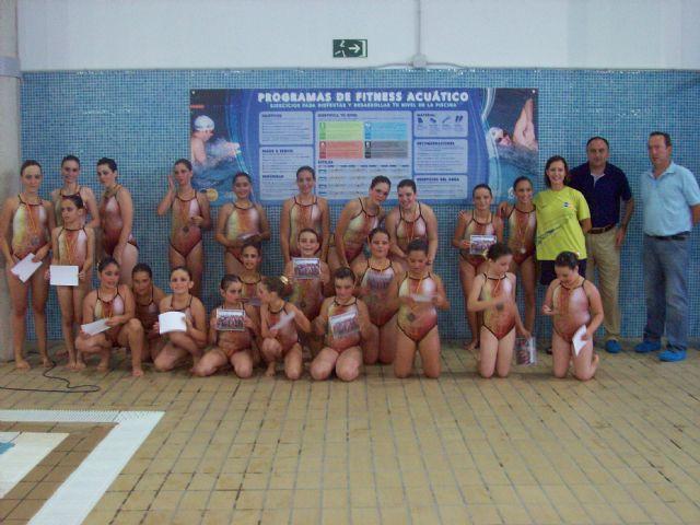 Clausuran con una exhibición los cursos de natación sincronizada, Foto 5