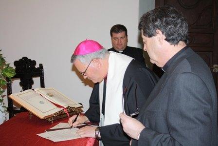 El nuevo Consejo de Gobierno de la Diócesis de Cartagena toma posesión y jura fidelidad a la Iglesia en su ministerio pastoral, Foto 3
