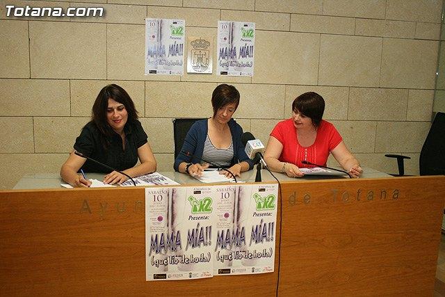 Las concejalías de Cultura y Festejos traen a Totana la obra musical Mama mía el próximo 10 de julio, Foto 1
